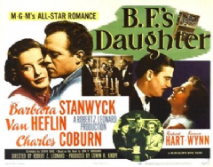 B.F.'s Daughter 1948 DVD - Barbara Stanwyck / Van Heflin